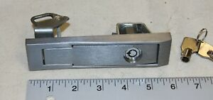 National Vending Machine L Handle Assembly With A Plug Lock And 2 Keys