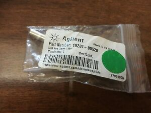 New Agilent 19231 80520 Metal Fid npd Adapter For 1 8 Packed Columns