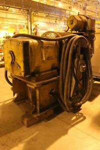 112 5 Kw Dc Output Electric Generator Powered By A 250 Hp 440 Volt Ac Motor