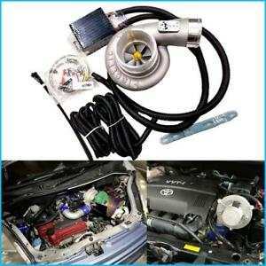 Free Fast Shipping Way Car Improve Speed Fuel Saver Electric Turbo Supercharger