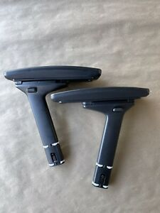 Pair Of Steelcase Leap V2 Arms With Arm Pads