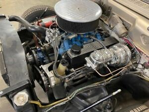 Ford 351 C Engine And C6 Transmission