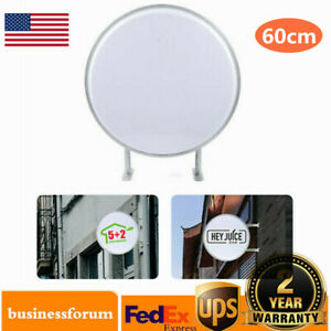 24 Led Double Sided Outdoor Advertising Projecting Light Box Sign Waterproof Us