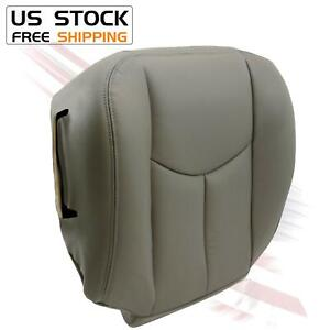 Fit 2003 2004 2005 2006 Chevy Tahoe Suburban Driver Bottom Seat Cover Gray 922