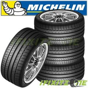 4 Michelin Pilot Sport Ps2 295 30r18 98y Ultra High Performance Summer Tires