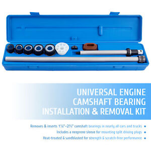 Cam Bearing Removal And Installation Tool Set For 1 1 8 To 2 2 3 Bearings 16pc