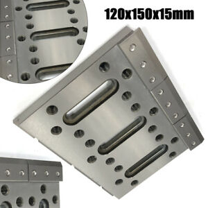 Wire Edm Fixture Board Stainless Steel Jig F Clamping Leveling 120x150x15mm New
