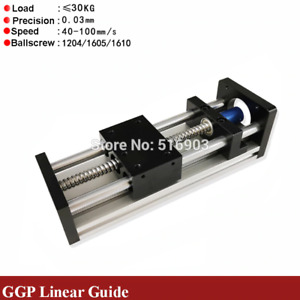Free Shipped 50 700mm Effective Stroke Cnc Linear Guide Stage Rail Motion Slide