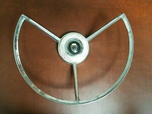 1957 1958 Ford Steering Wheel Horn Ring Button