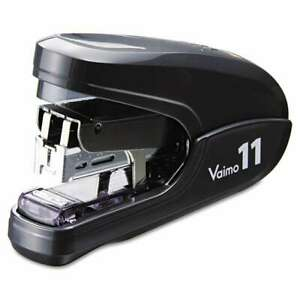 Max Flat Clinch Light Effort Stapler 35 sheet Capacity Black 093818001741