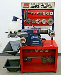 Ammco 4000b Disc Drum Brake Lathe W Bench And 3 4 1 Ton Truck Adapter Kit