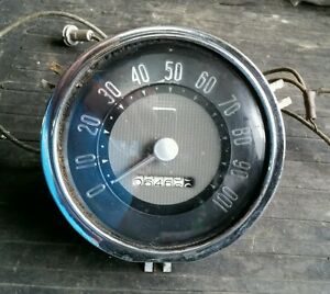 Vintage Car Pickup Speedometer Cluster 100 Mph Ford Chevy Mercury Buick Pontiac