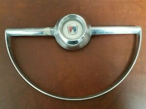 1954 Ford Steering Wheel Horn Ring Button