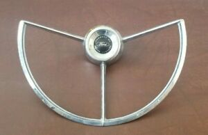 1964 Ford Steering Wheel Horn Ring Button