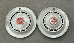 1960 s Studebaker 14 14 Inch Hubcaps Wheelcovers