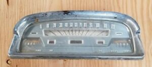 1959 59 Ford Car Speedometer Cluster Guage Ignition Lights Air Fuel Temp Wipers