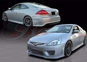 2003 2005 Honda Accord 2dr Coupe Gl Wondrous Style Full Body Kit By Ait Racing