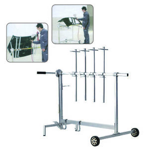 Automotive Iron Spray Painting Rack Stand Auto Body Shop Paint Booth Hood Parts