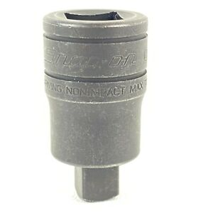Snap On Tools Usa 1 2 To 3 8 Adapter Reducer Gsafif New Old Stock