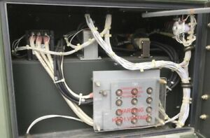 427 Hours Diesel 30kw Generator Quiet 1 3 Phase L3 Mep 805a Continuous Run