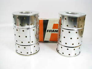 2 Fram C1672 Hydraulic Oil Filter Replaces 51567 H40224 1567 Lp509 Hf724
