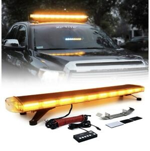New Whelen Led Compatible 48 A a Leds Lightbar 5yr Warranty Tow Truck Snow Plow
