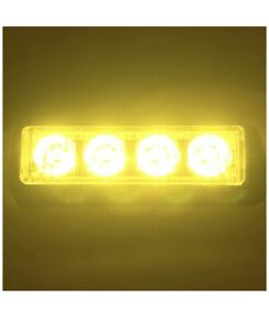 New Whelen Led Compatible Deck Grille Dash Leds All Colors Available 5yr Warr