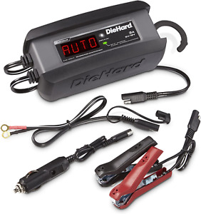 Diehard 71239 6 12v Platinum Smart Battery Charger And 3a Maintainer