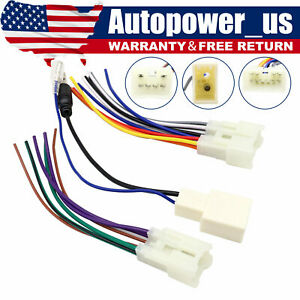 For Toyota Aftermarket Radio Stereo Install Power Speaker Wire Antenna Harness