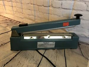 Midwest Pacific 12 Impulse Heat Sealer 8 With Cutter Mp 12c 380w Tested