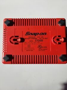 Snap On Dual Impact Battery Charger 9 6v 18v Ctc420
