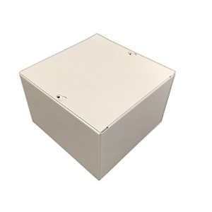 Bud Industries Jb 3955 Steel Nema 1 Sheet Metal Junction Box With Lift off Screw