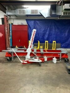 Celette Frame Machine Muf 7 seven With Cobra Puller And New Hydraulic Rams