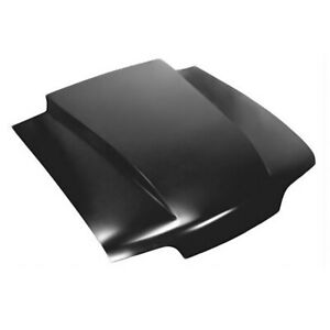 Brand New 1987 1993 Ford Mustang 2 Cowl Induction Style Steel Hood