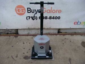 Silverline Floor Sander Square Buff 1218r 120 Volts Works Great 2