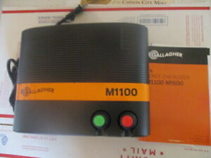 Nwob Gallagher M1100 11 joules 110 miles Fence Energizer G324504 Brand New