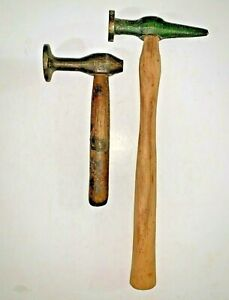 Vintage Auto Body Hammer Lot Of 2