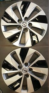Two 16 Nissan Altima 2019 2020 Oem Wheel Covers Hubcaps Rim Cover
