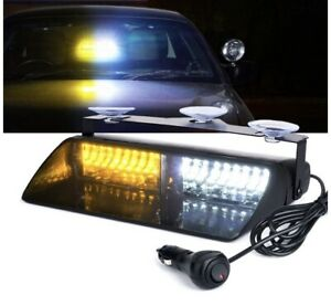 New Whelen Led Compatible Dual Dash Deck Led Light All Colors 5yr Warranty