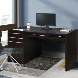 Saltoro Sherpi Contemporary Connect it Computer Desk Brown