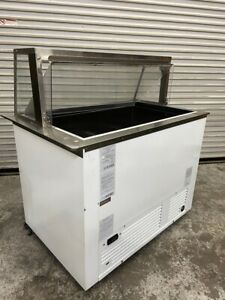 Ice Cream Dipping Cabinet Display Chest Freezer Nelson Ritas Bd6 dip rb 5218 Nsf