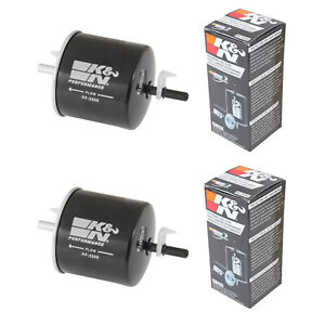 K N Performance Fuel Filter For Ford Lincoln Mercury Mazda Tribute Escape Pack 2