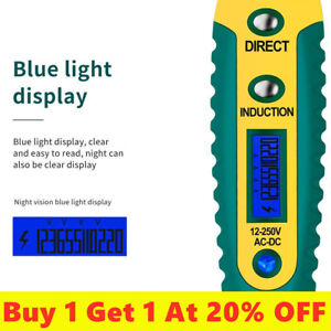 Aneng Ac dc Non contact Lcd Electric Test Pen Voltage Digital Detector Tester