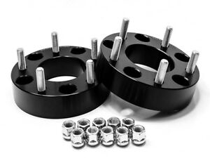 2pc Wheel Spacers Adapters Black 1 25 5x4 25 5x108 To 5x4 5 5x114 3 12x1 5