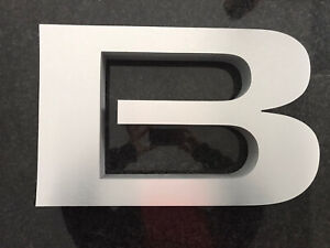 Authentic Dealership Buick Sign Letters Set Of 5 New