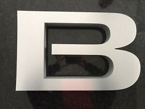 Authentic Dealership Buick Sign Letters Set Of 5 Nib