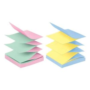 Post it Notes alternating Colors 3 x3 12 pk jaipur