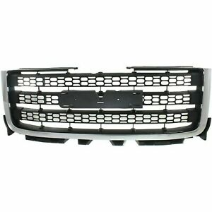 New Grille Assembly For 2011 2014 Gmc Sierra 2500 Hd Sierra 3500 Hd Ships Today