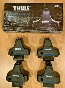 Thule Rapid Traverse 480r Set Of 4 Towers For Thule Roof Rack System