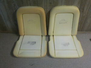 1967 Ford Mustang Seat Foam Standard Or Deluxe 2 Full Sets Dashesdirect